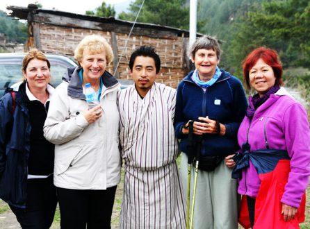 bhutan family trip
