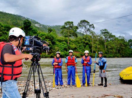 filming in bhutan